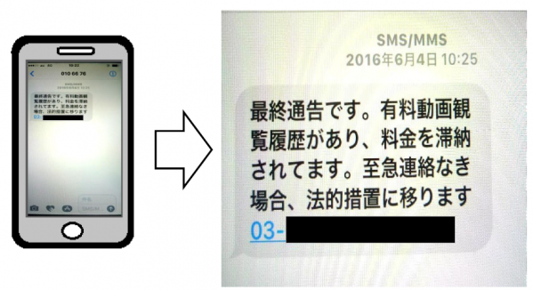 SMSを利用 詐欺 .png